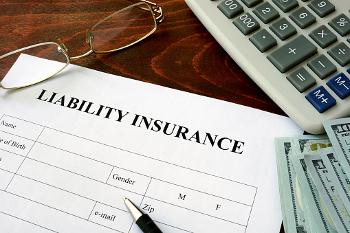 Certificate of Liability Insurance Form